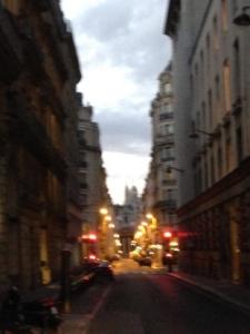 A glimpse of Sacre Coeur